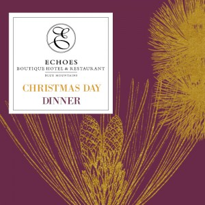 Echoes Restaurant Christmas 5 Course Dinner 2020